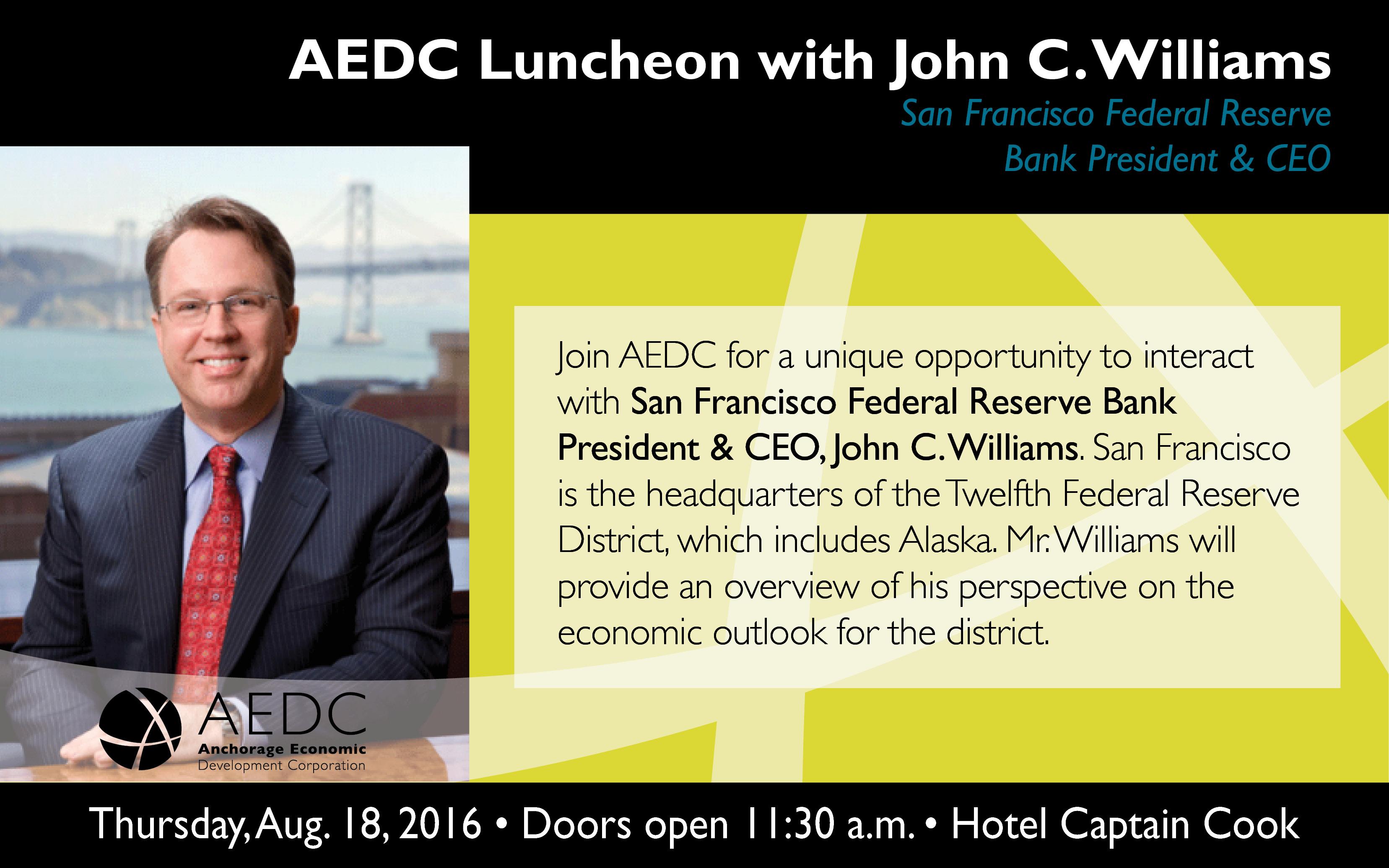 2016 AEDC Luncheon