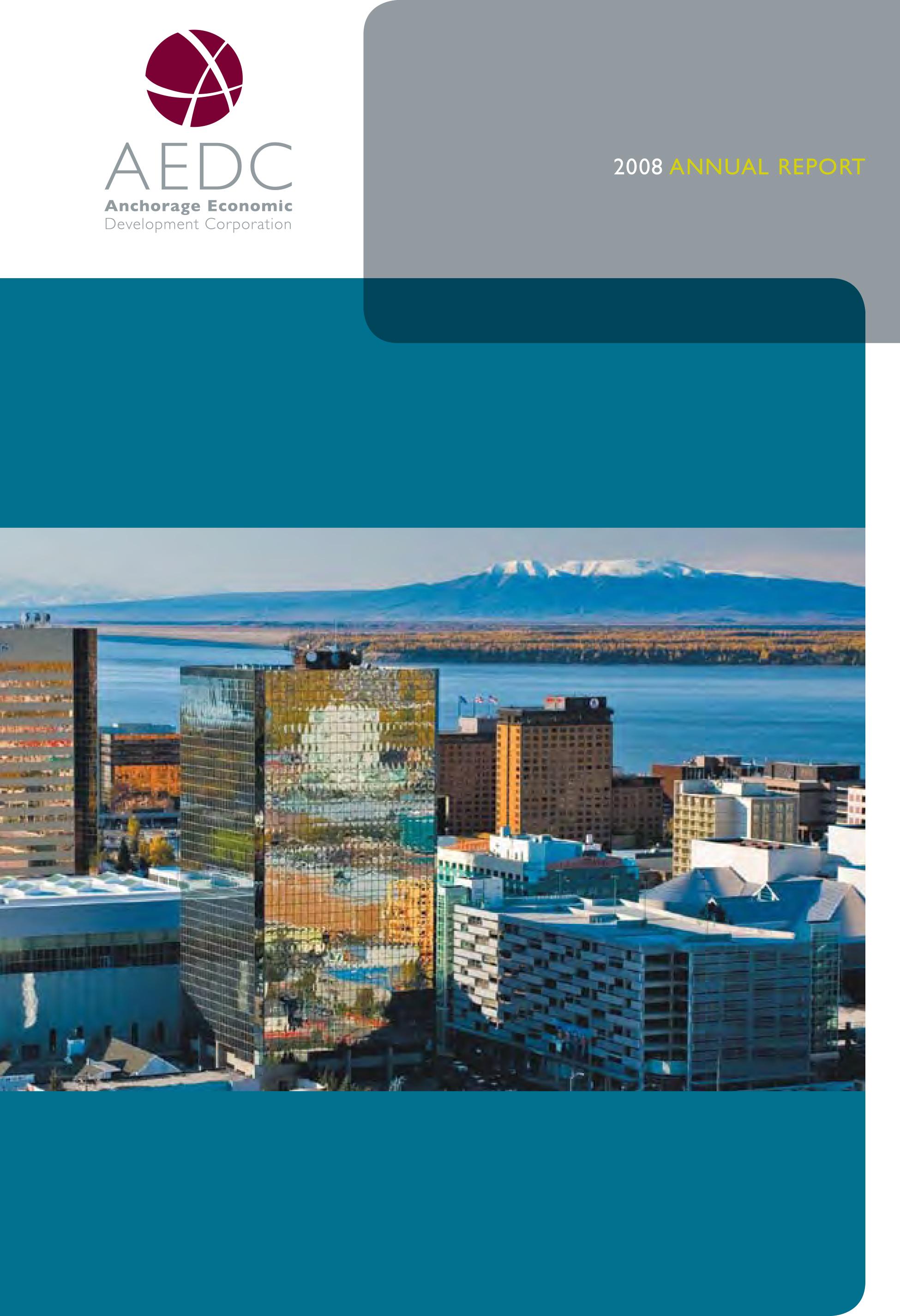 AEDC Annual Report: 2008