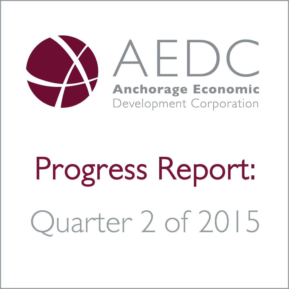 AEDC Progress Report: 2015 Q2