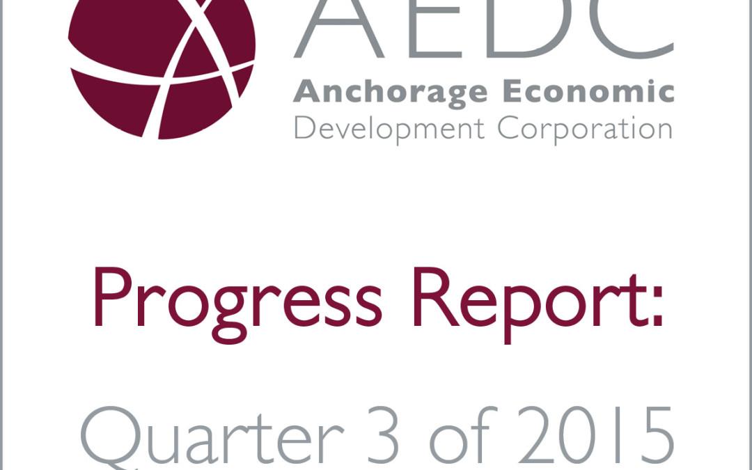 AEDC Progress Report: 2015 Q3