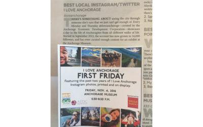 I Love Anchorage account wins Press Picks award