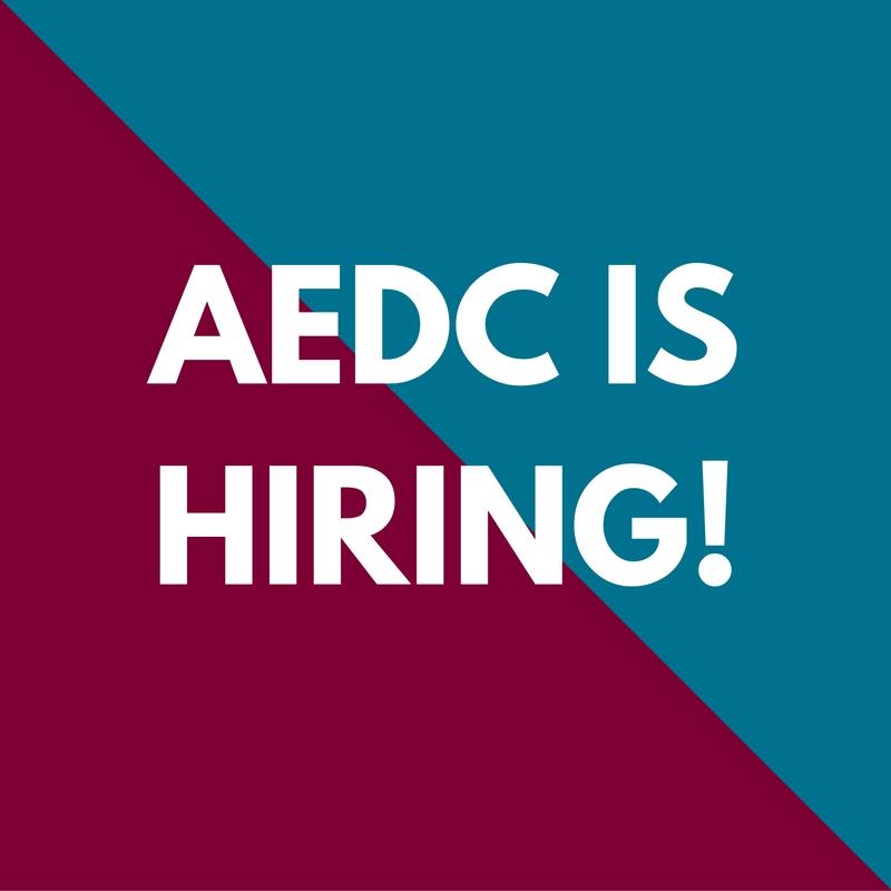 AEDC Now Hiring
