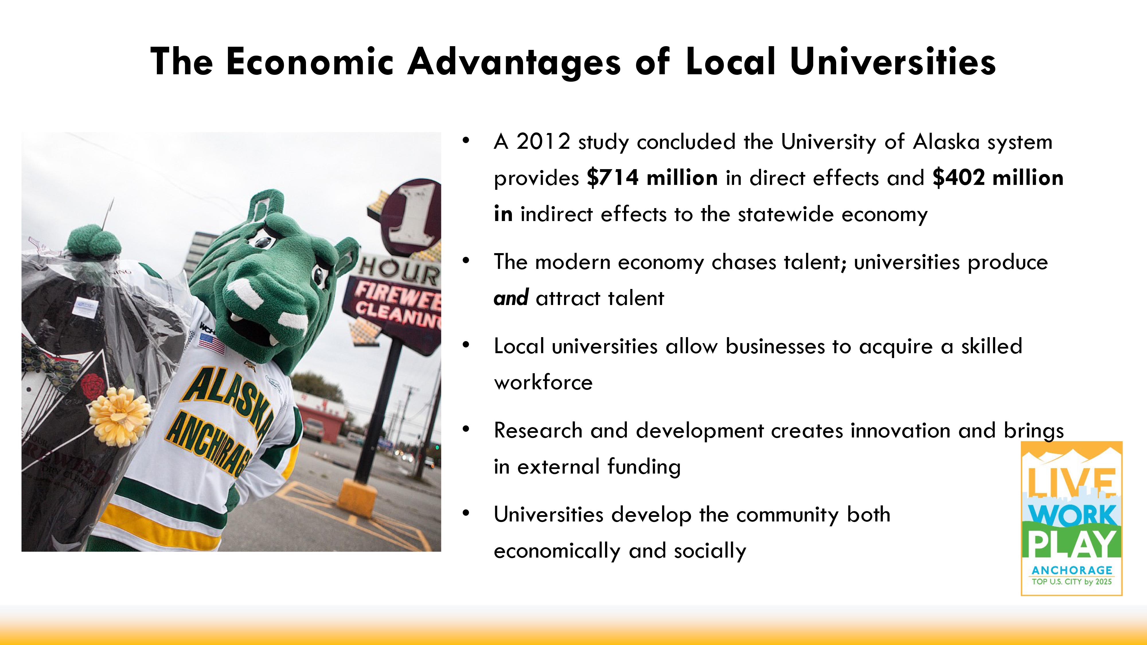 UAA economic impact event