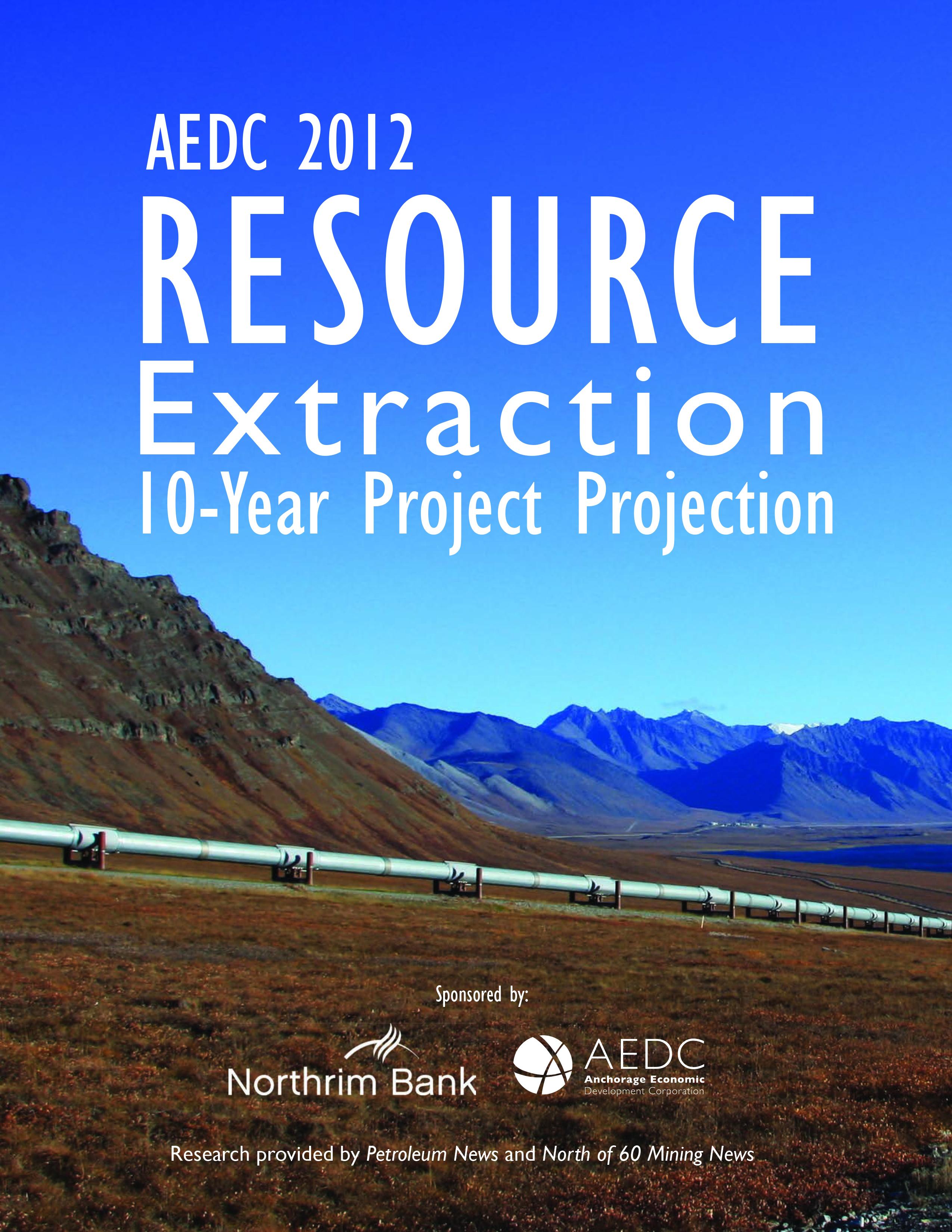 Resource Extraction Report 2012