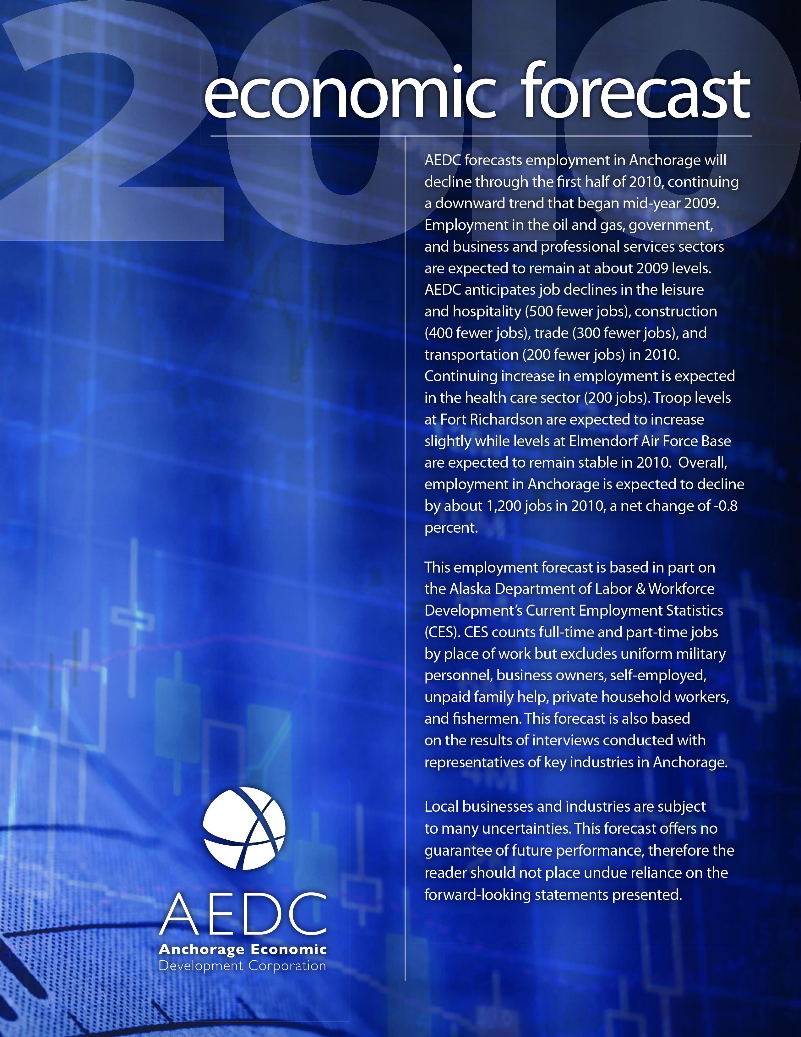 AEDC Economic Forecast Report: 2010