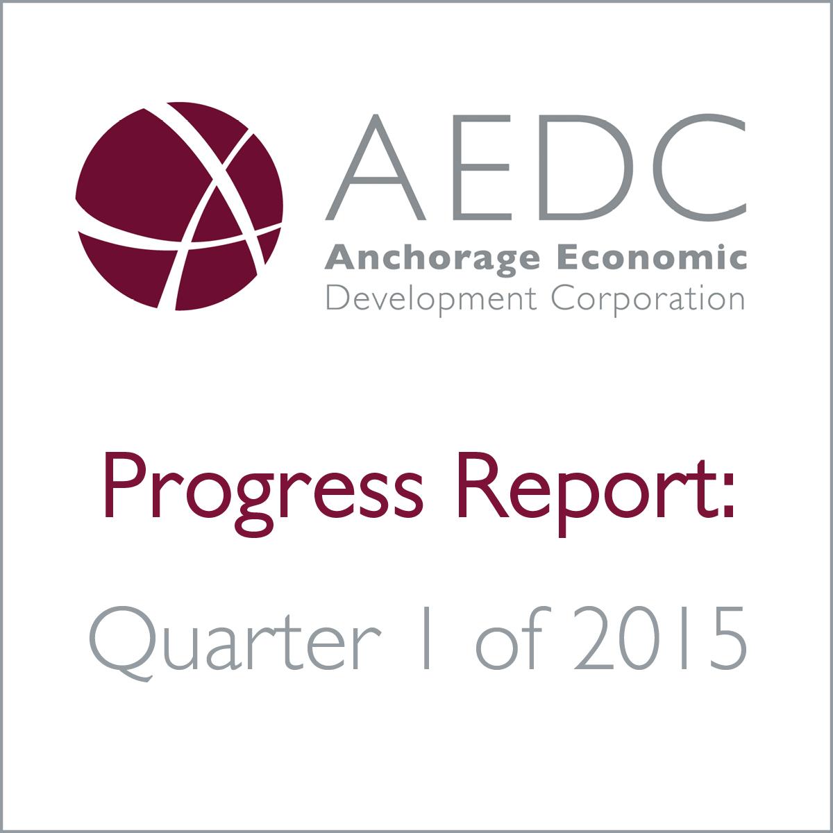 AEDC Progress Report: 2015 Q1