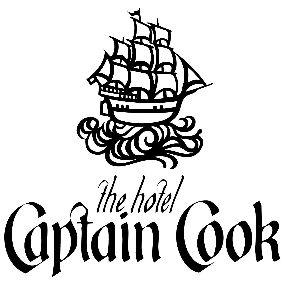 Image result for hotel captain cook logo
