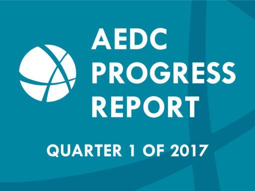 AEDC Progress Report: Q1 of 2017