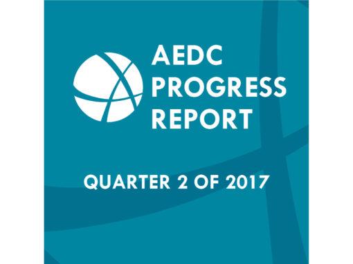 AEDC Progress Report: Q2 of 2017